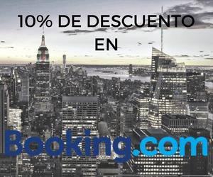 Descuento de 10% en Booking