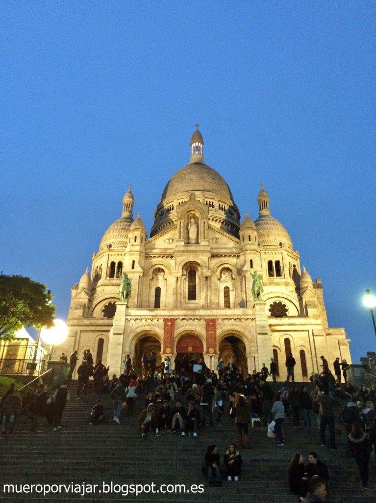 Iglesia Sacre Coeur, París