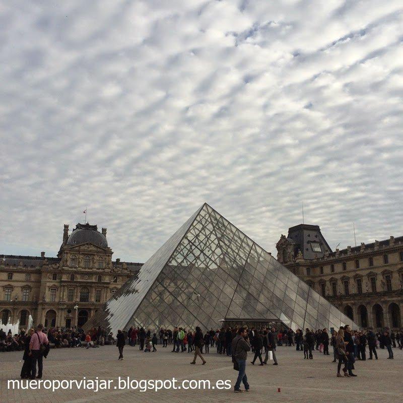 Entrada al Museé du Louvre