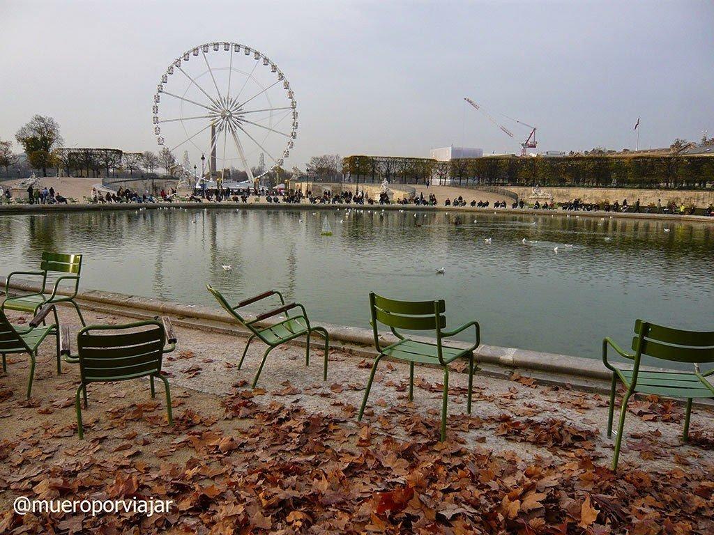 Jardin de Tulleries, París