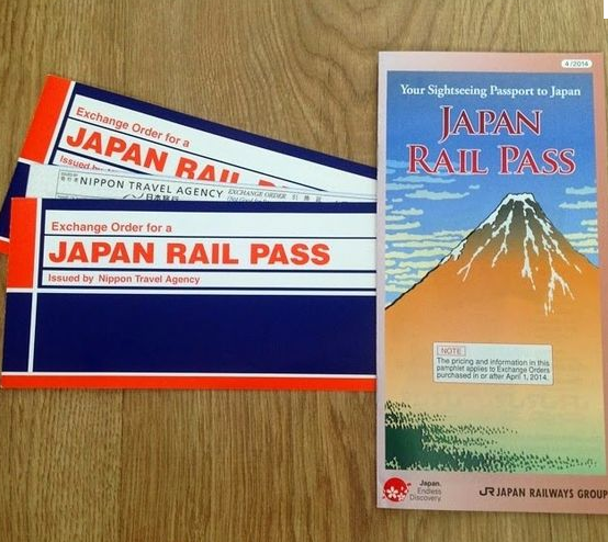 Bono japan rail pass (JRpass)
