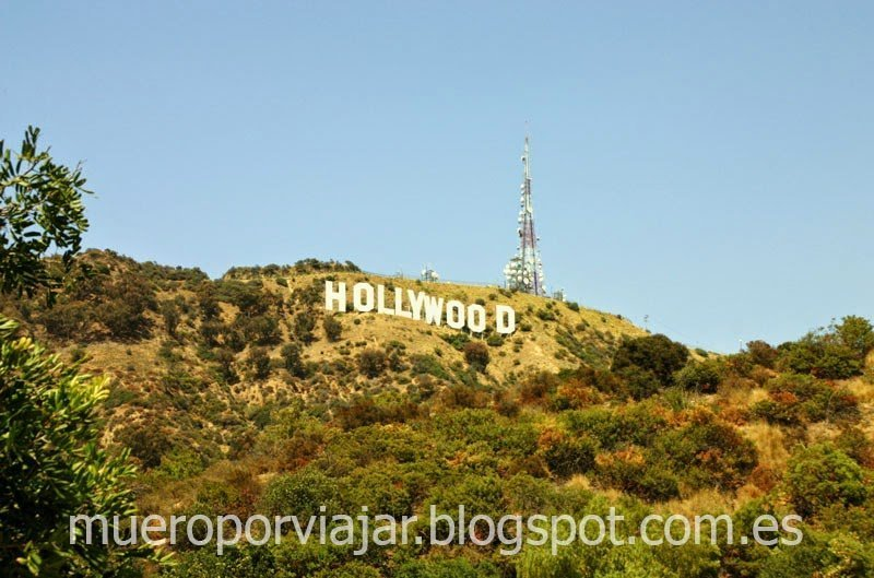 Hollywood Sign en el Monte Lee, Los Angeles