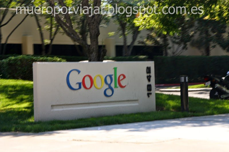 Entrada a Google, Silicon Valley
