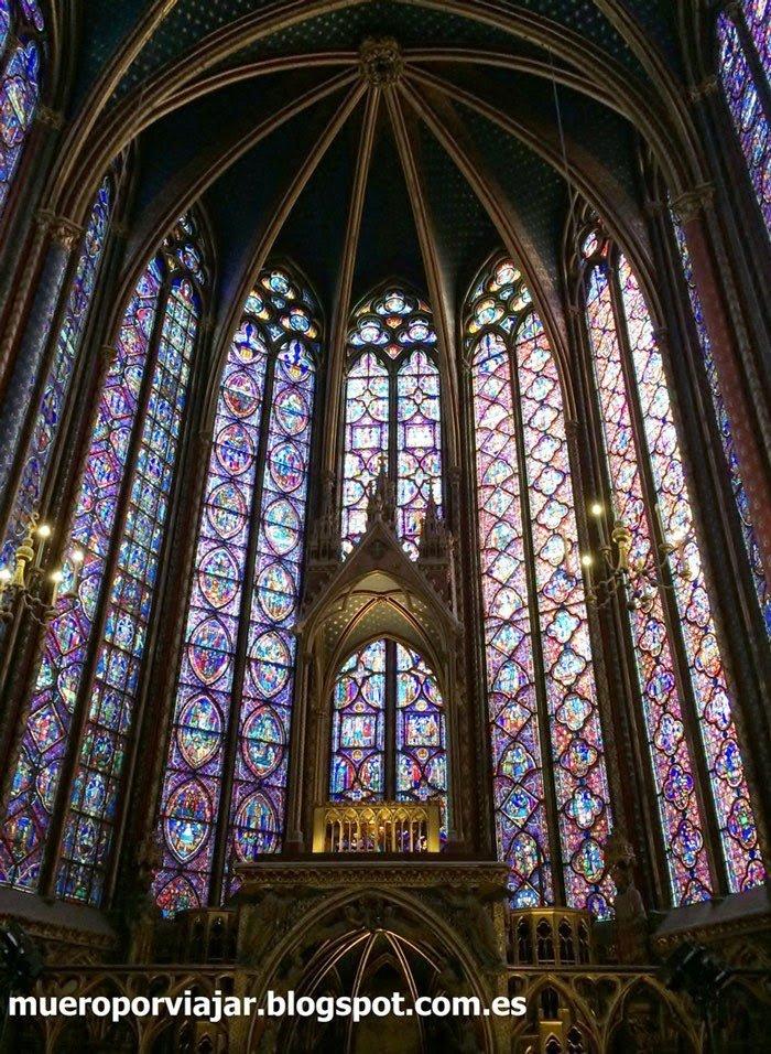Vidrieras de la Saint Chapelle