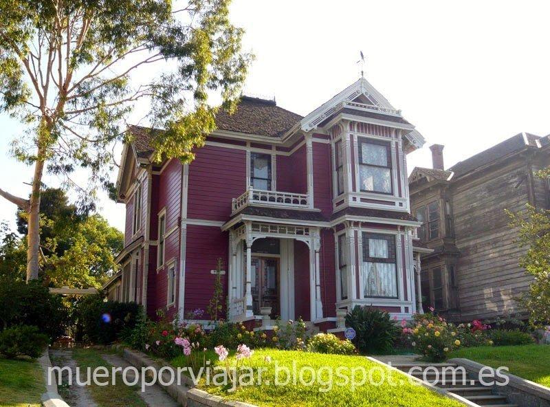 Casa que sirve de hogar en la serie Embrujadas