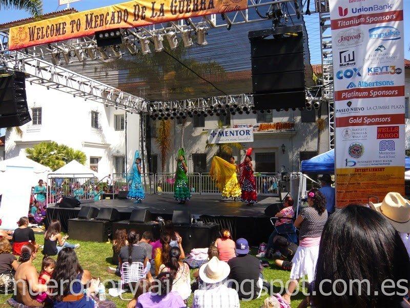 Fiesta de 'Spain' en Santa Barbara