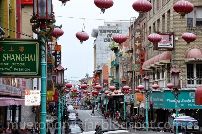 El barrio de China Town en San Francisco