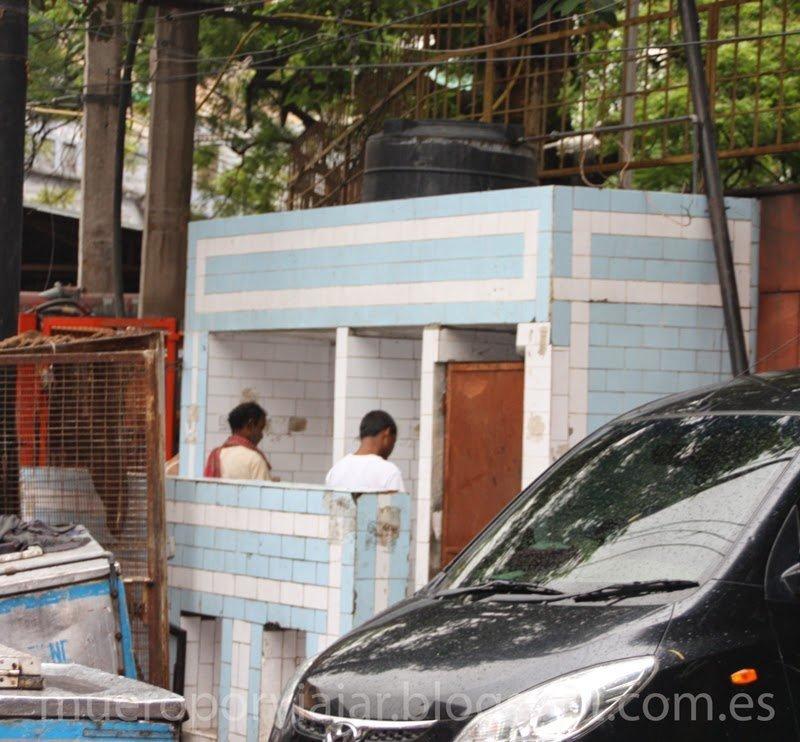 Baños publicos india