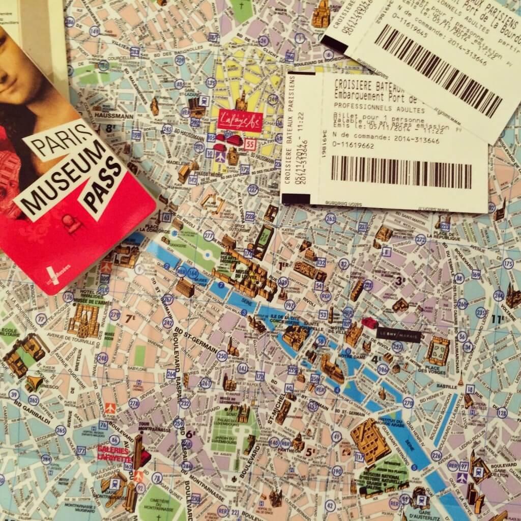 Preparando las visitas con el París Museum Pass