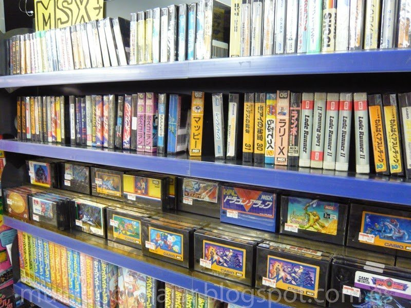 Selectos juegos de MSX