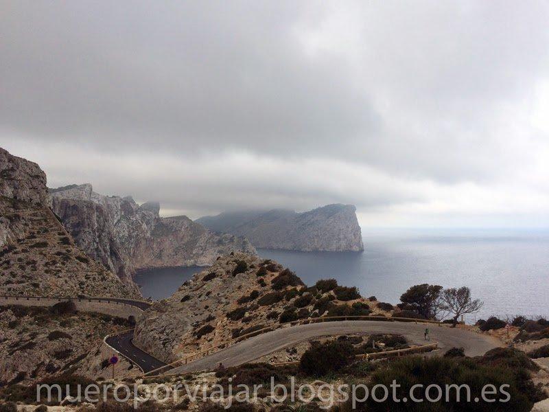 Vistas desde el faro de Formentor, Mallorca