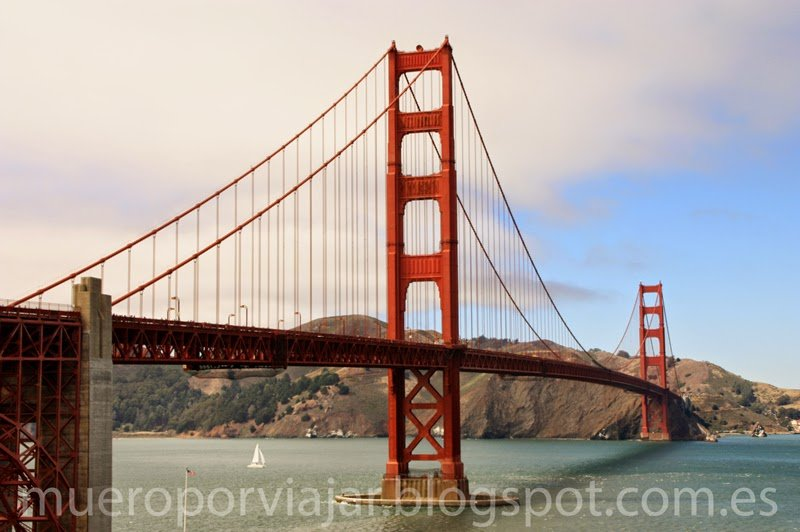 Puente Golden Gate en San Francisco, Califormia