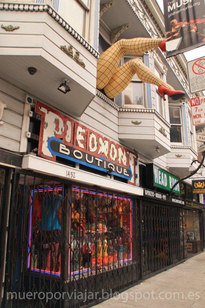 Tienda en el barrio Haigh-Ashbury, San Francisco