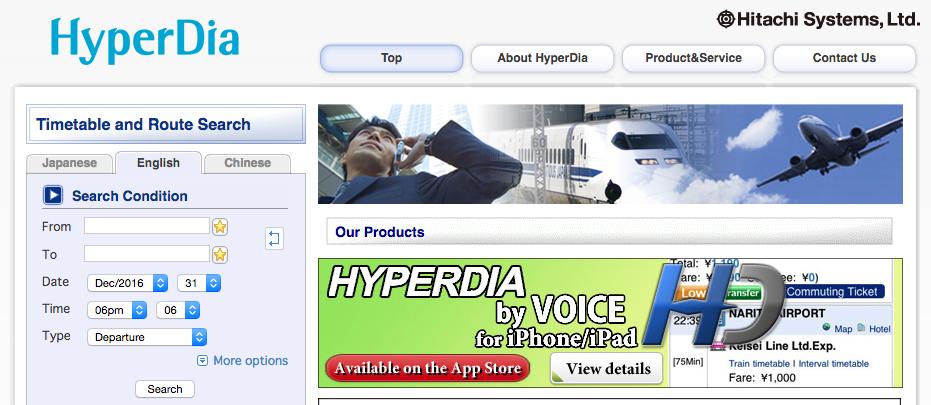 Web de hyperdia