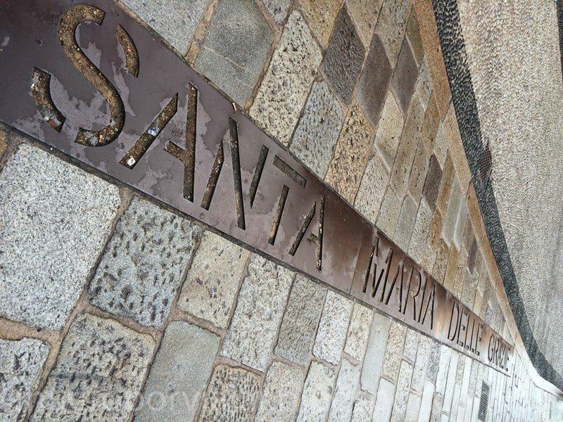 Camino a Santa Maria delle Grazie para ver la gran obra maestra