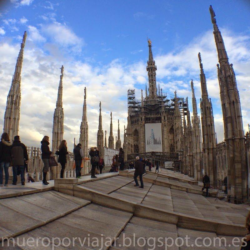 Terrazas del Duomo de Milán