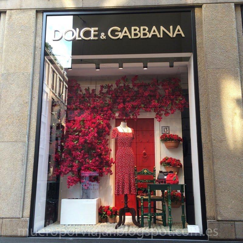 Escaparate de Dolce & Gabbana