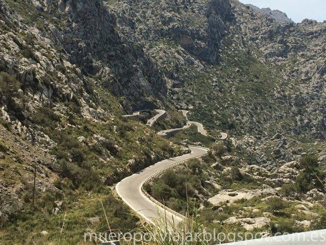 Carretera Nudo de Corbata en Mallorca