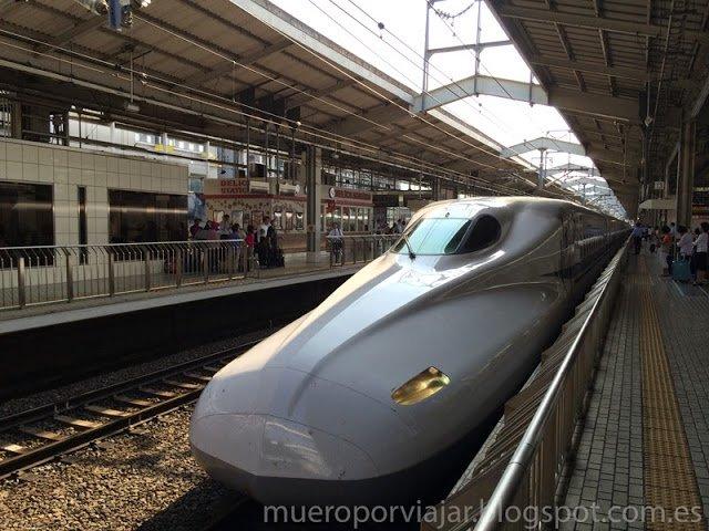 Tren Shinkansen, imprescindible para moverte en tu viaje por Japón