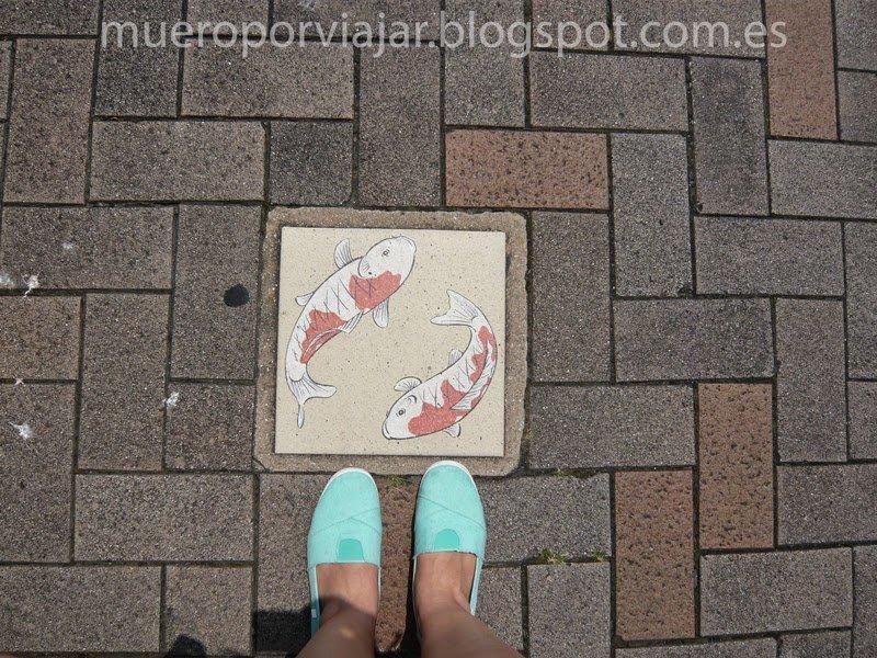 Alcantarilla de la ciudad de Hiroshima