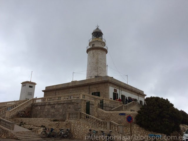 El mirador del faro de Formentor en Mallorca