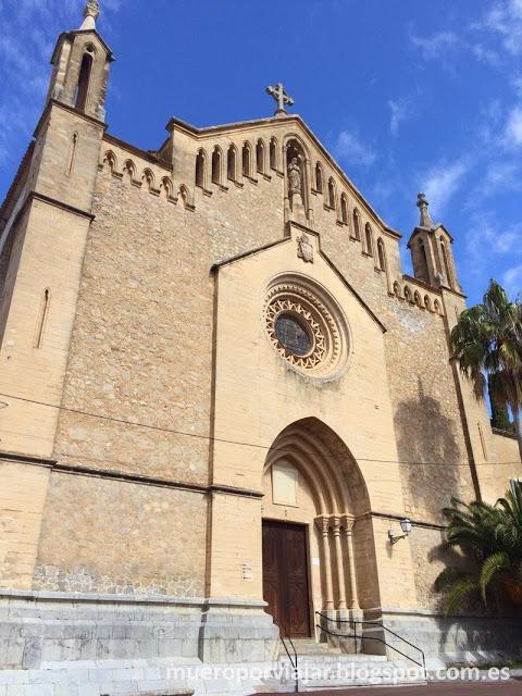 Fachada de la iglesia de Artà