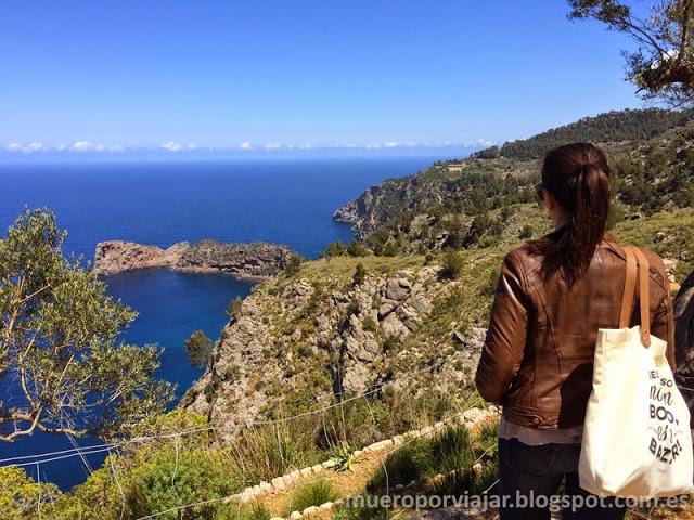 Vistas espectaculares desde el Monasterio de Miramar