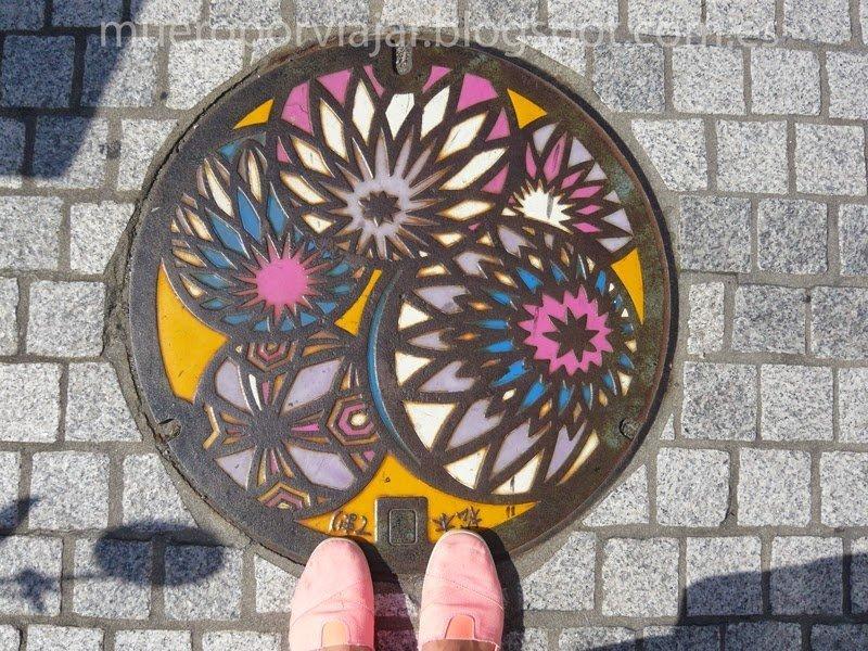 Alcantarilla de la ciudad de Matsumoto