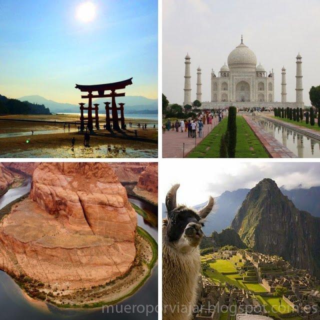 Japón, India, Costa Oeste de EEUU y Perú, 4 de los grande viajes que ya he podido realizar