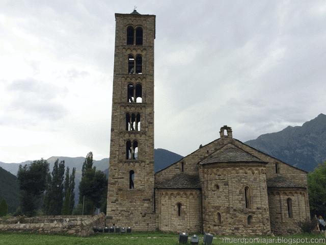 Iglesia románica San Climent en Taüll, Vall de Boí, Lleida