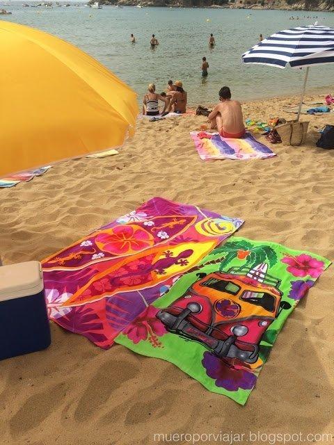 Nuestras preciosos y nuevecitas toallas de playa