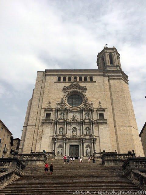 La catedral de Girona, espectacular