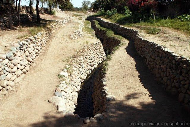 El acueducto de Cantalloc provee de agua al pueblo, después de más de 1000 años