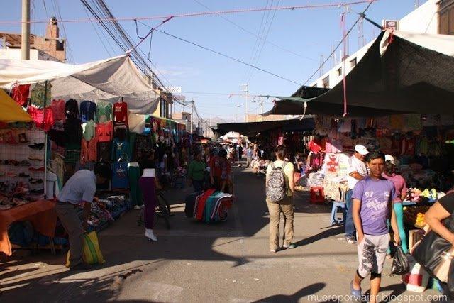 El fantástico mercado de Nasca, puedes pasear durante horas