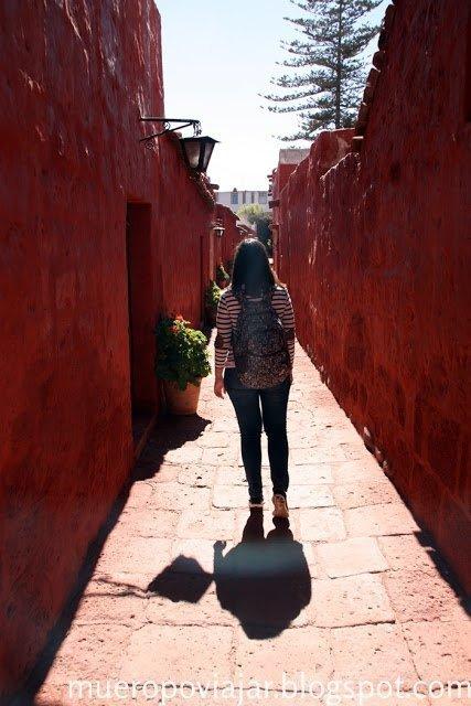 En las calles del Monasterio de Santa Catalina se puede respirar tranquilidad