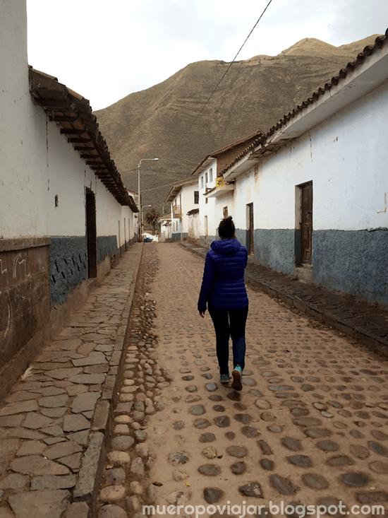 Paseando por las calles de Andahuaylillas