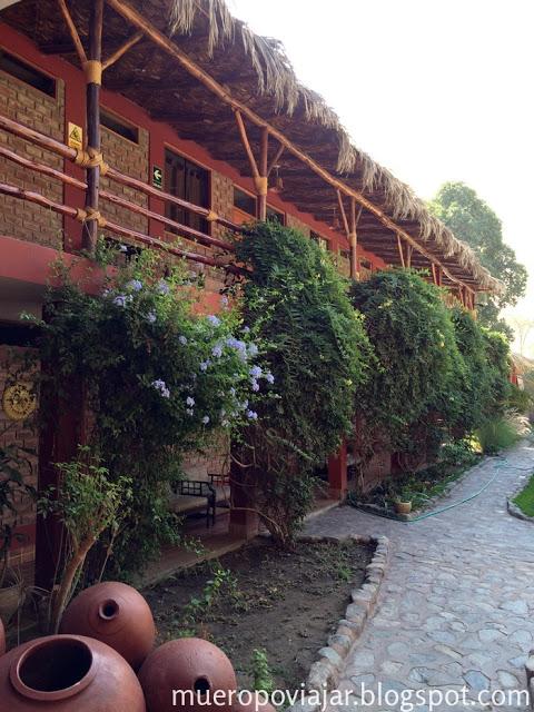 Habitaciones del Hotel Huacachinero