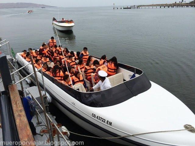 Barca rápida para hacer el tour por las Islas Ballesta
