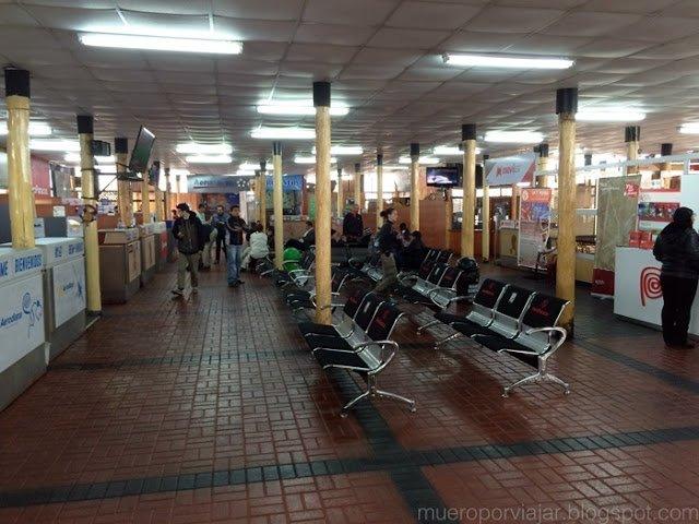 Aeropuerto de Nasca, de donde parten las avionetas que hacen la visita