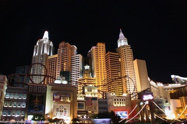 El detalle de las fachadas de los hoteles es impresionante