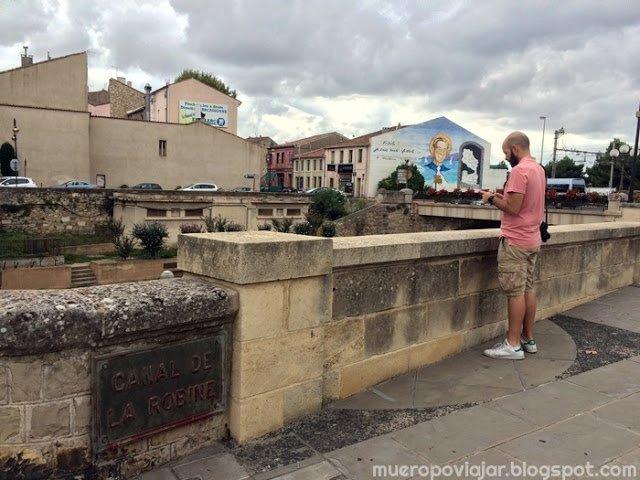 Canal de la Robine en Narbonne