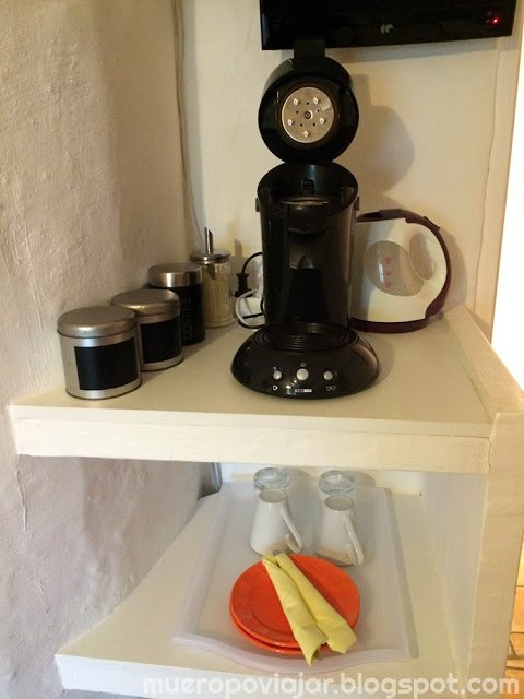 Podemos hacernos un café o un te cuando nos apetezca
