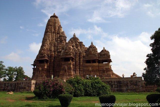 Los tempos de Khajuraho son impresionantes y esta muy bien conservados