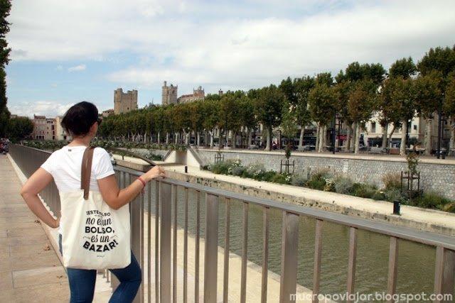 Paseando por el rio de Narbonne