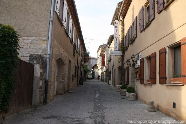 Las calles del interior de la Cité de Carcassonne