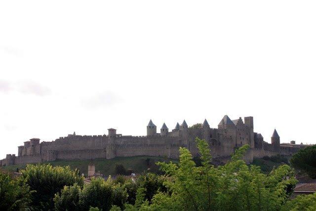 Vista de la muralla de la Cité de Carcassone