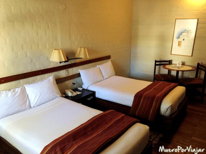 Interior de la habitación del Hotel Casa Andina Colca