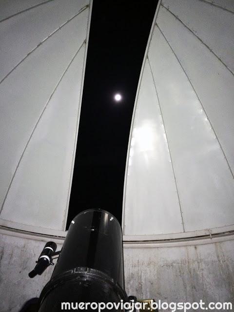 La visita al planetario fue de los momentos más divertidos del viaje y aprendimos mucho