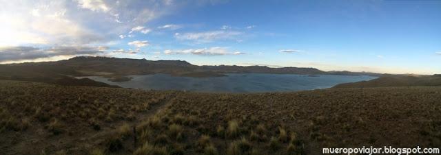 Panoramica de la Laguna lagunillas