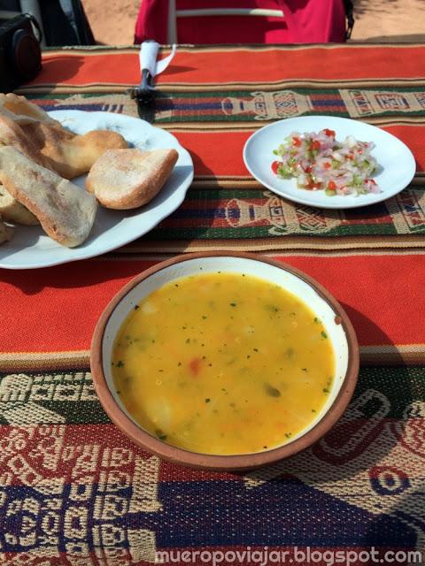 Plato delicioso de sopa (plato favorito de #elCamaraResignado)